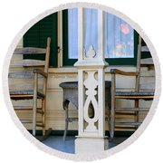 Cambria Squibb House Rocking Chairs Round Beach Towel