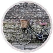 Cambridge Bike 3 Round Beach Towel