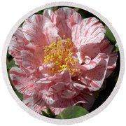 Camellia 2967 Round Beach Towel