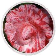 Camellia Round Beach Towel