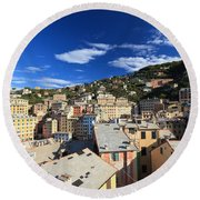 Camogli Round Beach Towel
