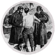 Canada: Riel Rebellion, 1885 Round Beach Towel