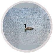 Canadian Goose 2 Round Beach Towel