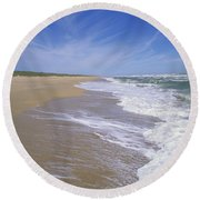 Canaveral National Seashore Round Beach Towel