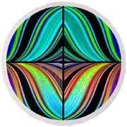 Candid Color 23 Round Beach Towel