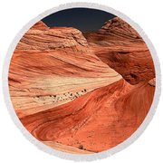 Candyland Canyons Round Beach Towel