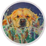 Cannonball Round Beach Towel