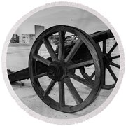 Cannons Round Beach Towel