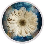 Canvas Still  Round Beach Towel