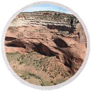 Canyon De Chelly I Round Beach Towel