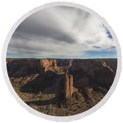 Canyon De Chelly Round Beach Towel