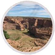 Canyon De Chelly View Round Beach Towel
