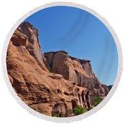 Canyon Dechelly Navajo Nation Round Beach Towel
