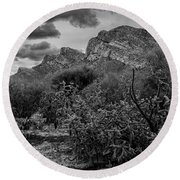 Canyon Del Oro No.48 Round Beach Towel