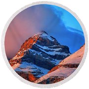 Canyon River A-isclo Or Bell-s. Ordesa Round Beach Towel