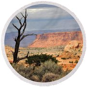 Canyon Vista 2 Round Beach Towel