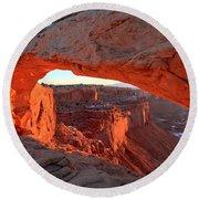 Canyonlands Spectacular Round Beach Towel