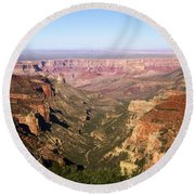 Cape Final Canyon View Round Beach Towel