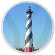 Cape Hatteras Lighthouse - Outer Banks Nc Round Beach Towel