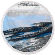 Cape Le Grand Coast Round Beach Towel