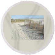 Cape May Round Beach Towel