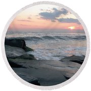 Cape May Round Beach Towel