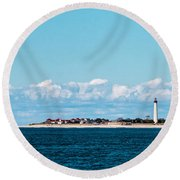 Cape May Point Round Beach Towel