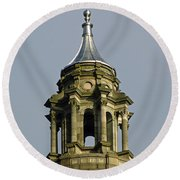 Capital Dome Spindle Top Round Beach Towel