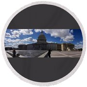 Capitol Early Spring Round Beach Towel