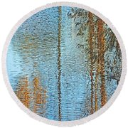 Capitol Waters Round Beach Towel