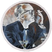 Capote By Hoffman Round Beach Towel
