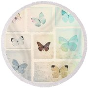 Captured Beauty Round Beach Towel by David Ridley