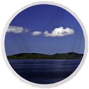 Caribbean Breeze Eleven Round Beach Towel