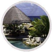Caribbean Breeze Four Round Beach Towel