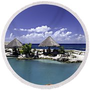 Caribbean Breeze Three Round Beach Towel