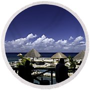 Caribbean Breeze Two Round Beach Towel