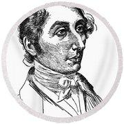 Carl Maria Von Weber (1786-1826) Round Beach Towel