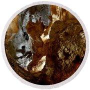 Carlsbad Caverns #1 Round Beach Towel