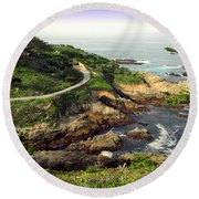 Carmel Highlands Round Beach Towel