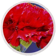 Carnation Carnation Round Beach Towel
