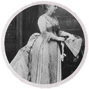 Caroline Lavinia Harrison (1832-1892) Round Beach Towel