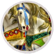 Carousel Charger Round Beach Towel