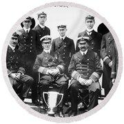 Carpathia Crew, 1912 Round Beach Towel