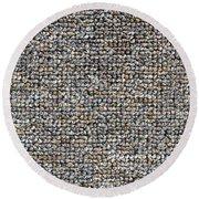 Carpet Texture Round Beach Towel