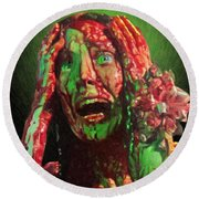 Carrie Round Beach Towel