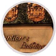 Cartier Jewellery Round Beach Towel