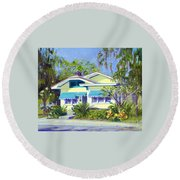 Cason Cottage Round Beach Towel