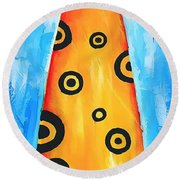Cat 649 - Marucii Round Beach Towel
