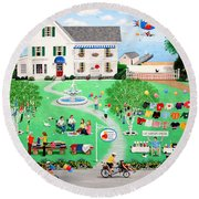Cat Lovers Special Round Beach Towel