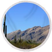 Catalinas Round Beach Towel